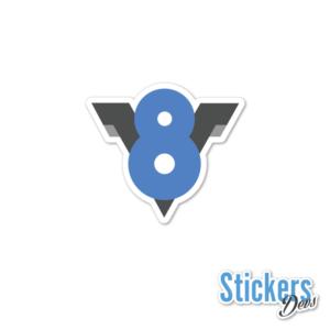 v8-sticker-adesivo copy